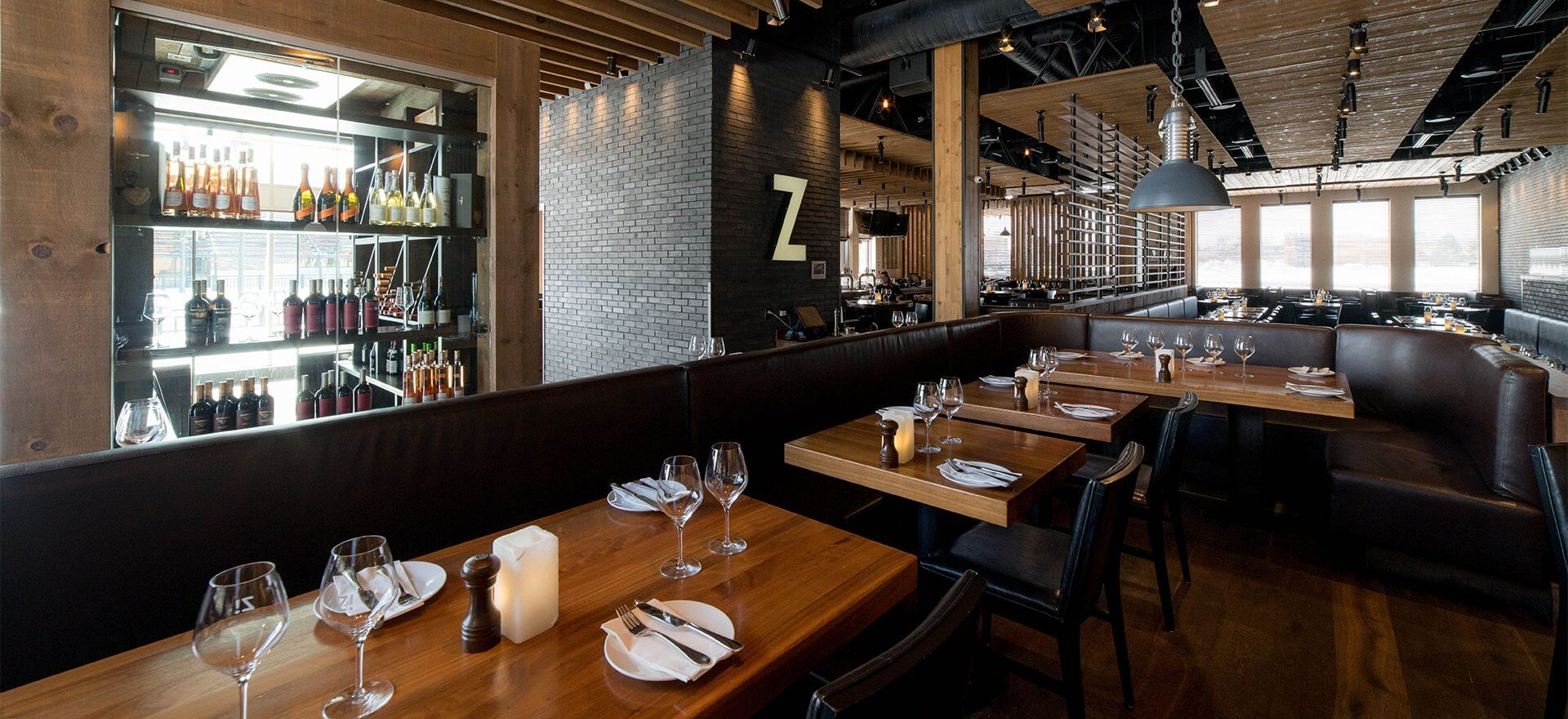 Intérieur du restaurant ZIBO! Boisbriand