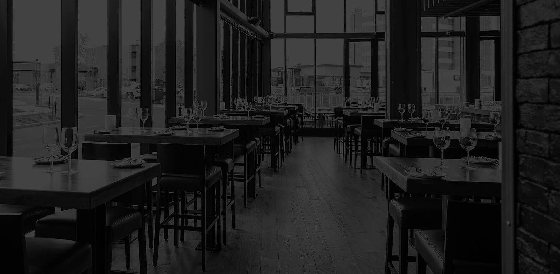 Un restaurant de Zibo! vue de l'intérieur.